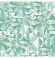 Sea Water Abstract Triangles Pattern vector image