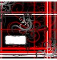 tribal art abstraction with copy-space vector image