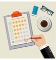 Customer feedback concept vector image