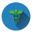 Medicine sign icon vector image