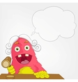 Funny Monster Judge vector image vector image