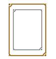 modern frame board vector image vector image