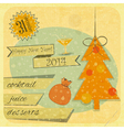 Invitation to the New Year Party vector image vector image