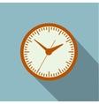 Image timer long shadow vector image vector image