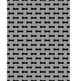 Metal grid seamless pattern vector image vector image