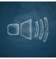 sound on icon vector image