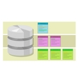 data table query database index symbol vector image