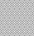 Seamless monochrome pattern in Arabic style vector image vector image