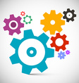 Gears - Cogs Set Technology Items vector image vector image
