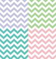 popular zigzag chevron pattern vector image