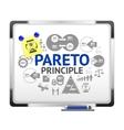 Pareto Principle vector image