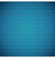 Blue Seamless Circle Perforated Grill Texture vector image vector image