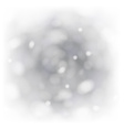 Bokeh light background with white copyspace vector image