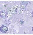 Koi carp background vector image