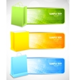 Set of banners with shopping bags vector image