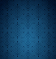 Blue little background vector image vector image