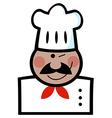 Winking Black Chef vector image vector image