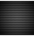 Background with Zigzag Pattern and Metal Texture vector image vector image