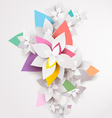 Floral abstract background vector image vector image