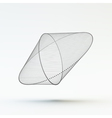 Lattice Geometric Polygonal Element vector image