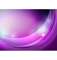 Purple swirl or wave pattern abstract template vector image