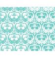 Set of seamless patterns - floral ornamental backg vector image
