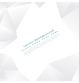 background with white triangles vector image
