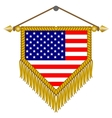 flag of usa america vector image vector image