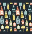 jars pattern vector image