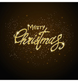 shining merry christmas vector image