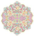 mandala paisley vector image