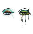 Carnival Eyes vector image