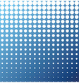 Abstract background white blue halftone vector image
