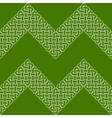 Asian or Celtic knot seamless border or pattern vector image