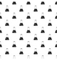 chemical flask pattern vector image