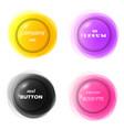 3d like circular colorful frame or rosette vector image