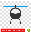 Helicopter Eps Icon vector image