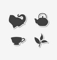 set of hand drawn stickers vector image