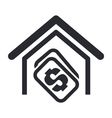 house buy single vector image