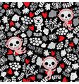 Skull creatures vector image