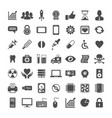 icon set for website and app vector image