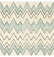 Textured large zig zag pattern vector image vector image
