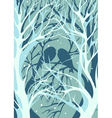 three-dimensional image Silhouettes pair of lovers vector image
