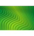 Green Striped 3D Texture vector image vector image