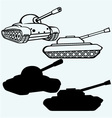 Tank vector image vector image