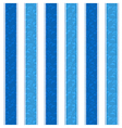 Blue Line Pattern Background vector image