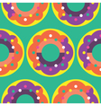 Seamless Donut pattern icon Candy Pattern vector image