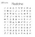 Set of medical and health icons vector image