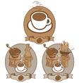 coffee vintage vector image vector image