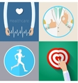 Healthcare system concept vector image